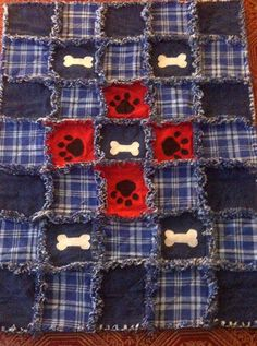 Looking for quilting project inspiration? Check out Rag Quilt For My Dog by member holmar. - via @Craftsy