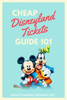 Everybody is looking for cheap Disneyland tickets. And honestly, everyone claims to know the best ones! But do they really? Probably not. Do not worry, though! I know the who, what, when, where, and how to get the real deals. Here is a comprehensive guide to cheap Disneyland tickets, where to find them, how to get them, and which are the best.  #Disneyland #DisneyWorld #DisneyOnABudget