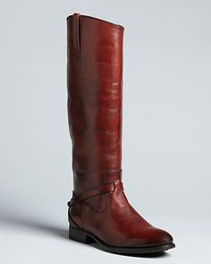 Frye Riding Harness Boots - Lindsay - Boots - Shoes - Shoes - Bloomingdale's  Wear it with a girly dress or wear it with sexy tights!  Fashionable and comfy!  #AquaRocks