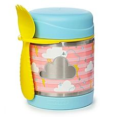 Skip Hop Forget-Me-Not Stainless Steel Insulated Food Jar and Spork, Cloud Skip Hop Zoo, Baby Jars, Baby Clothes Storage, Boite A Lunch, Bodies, Food Jar, Food Storage Containers, Baby Furniture, Baby Accessories