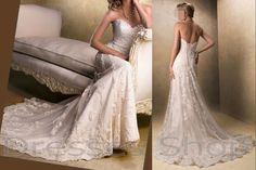 Lace+Wedding+Dresses+Mermaid+Bridal+Dress+by+Dressesshop+on+Etsy,+$220.00