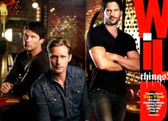 the boys of true blood...which will sookie wind up with?  If she cant make her mind up ill take one! haha