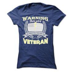 Warning This Girl Is Protected By A Veteran Ladies Tee Superman, Cupcake T Shirt, Sweater Shirt, Sweatshirt Refashion, Maroon Sweater, Cat Sweatshirt, Dog Shirt, Sweater Outfits, Shirt Outfit