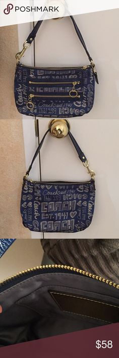 Coach Purse Darling Coach Purse! Never used it. Cute piece! Needs to be showed off. Make me an offer today! Coach Bags