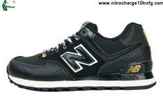 New Balance NB ML574BL Year of Snake 2013 Black Golden For Men shoes