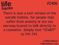 Suicide hotline is text accessible now