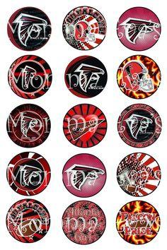 Atlanta Falcons Indianapolis Colts, Cincinnati Reds, Pittsburgh Steelers, Dallas Cowboys, Falcons Football, Auburn Football, Football Helmets, Bottle Cap Images, Bottle Caps