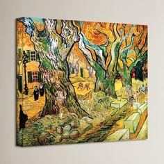 ArtWall Vincent Van Goghs Self Portrait Art Appeelz Removable Wall Art Graphic 18 x 24