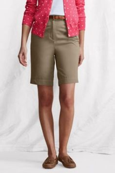 """Women's Fit 3 7-Day 10"""" Shorts from Lands' End"""