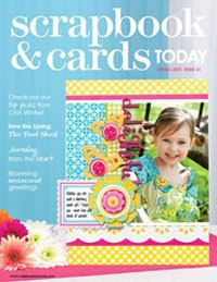 2011 - spring - past scrapbook and cards magazine
