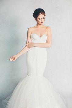 Lily Mermaid Wedding Dress   Introducing the Elizabeth Stuart Bridal Spring 2015 Collection!