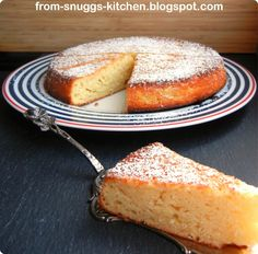 lime-yogurt-olive oil-cake / limetten-joghurt-olivenöl-kuchen