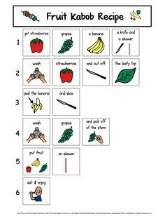 Visual Recipes: Summer Treats & Snacks! - The Autism Helper