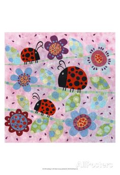 Lady Bugs Prints by Kim Conway at AllPosters.com