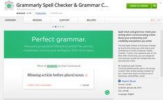 Grammarly free web add-on