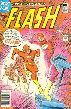 flashirisallenThe Flash Vol. 1 #275-284: The Death of Iris Allen (1979-1980) By Cary Bates, Alex Saviuk and Don Heck