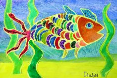 Tropical Fish - do this for art to remeber