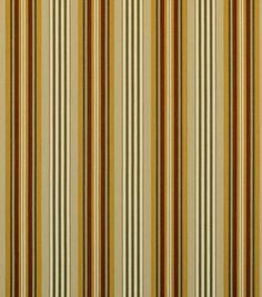 Home Decor Print Fabric-Covington Mesa Stripe 317 Salmon