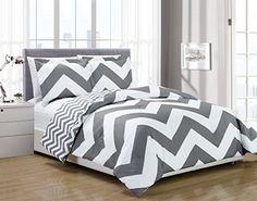 Chezmoi Collection 2-piece Chevron Zig Zag Comforter Bedd... https://www.amazon.com/dp/B010CFC4I8/ref=cm_sw_r_pi_dp_x_JqnoybY5HENC1