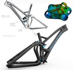 Mondraker frame by Cero Design