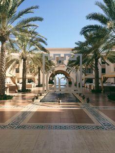 Shangri-la Barr Al Jissah resort. A perfect weekend getaway Water Activities, Shangri La, Photo Blog, Weekend Getaways, Travelling, Spa, Posts, Mansions, House Styles