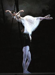 Thiago Bordin and Alina Cojocaru in John Neumeier's A Midsummer Night's Dream. Photo (c) Nikolay Krusser. Street Dance, Shall We Dance, Just Dance, Dance Class, Dance Studio, Princesa Tutu, Ballet Couple, John Neumeier, Male Ballet Dancers