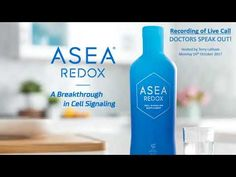 Doctors talk About The New ASEA Science Gene Study: Redox Signals and Health Doctor On Call, Communication Problems, Blood Cells, Vodka Bottle, Study, Doctors, Social Media, Science, Healthy