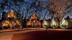 Tubo hotel, en Mexico
