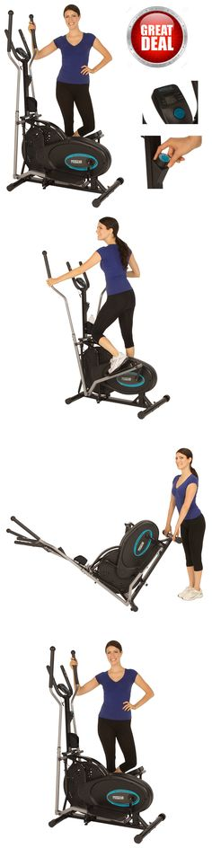Ellipticals 72602: Elliptical Indoor Fitness Trainer Progear Workout Exercise Cardio Gym Sensors -> BUY IT NOW ONLY: $143.02 on eBay!