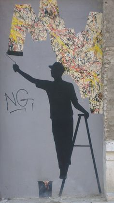 Pejac urban art Malaga