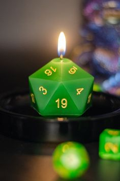 Lemon Tart: A bright blend of lemony citrus and grassy herbals mix into a delightful confection of fragrance. This dessert scent smells good enough to eat! #dndaccessories #dungeonsanddragons #scentedcandles #dice Geek Decor, Green Dragon, Lavender Scent, Good Enough To Eat, D20 Dice, Dungeons And Dragons, Deep Forest, Tart, 8 Hours