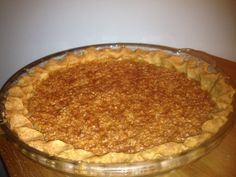 Amish Cook Classic: Oatmeal Pie   Amish Recipes Oasis Newsfeatures