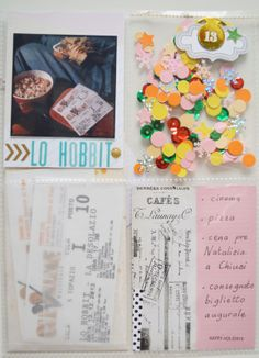 december daily 13 by pelosona at @Studio_Calico Cute with the tickets and all the bling and confetti in the pocket.