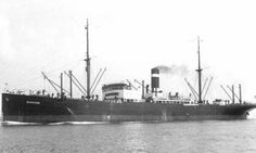 At 22.47 hours on 31 Oct 1941, U-96 fired four single torpedoes at the convoy OS-10 from a long range during a full moon night and claimed the sinking of two ships with 13,000 grt. In fact, only the Bennekom (Master Leonardus Hendrik Mager) in station #22 was hit on the port side amidships in the deep tank in #4 hold by one torpedo, which had been spotted too late to be evaded by putting the wheel hard to port. The fuel oil in the tank immediately caught fire and was blown over the ship.