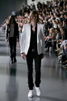 Dior Homme Spring 2005 Menswear Collection / Hedi.