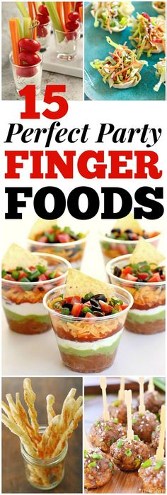 Looking for good hosting recipes? These easy party finger food recipes include e… Looking for good hosting recipes? These easy party finger food recipes include entrees, appetizers, sides and desserts to impress your friends and family! Finger Food Appetizers, Appetizers For Party, Easy Finger Food, Finger Foods For Parties, Finger Food Recipes, Summer Finger Foods, Simple Finger Foods, Finger Finger, Finger Desserts