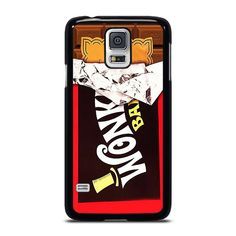 WONKA BAR GOLDEN TICKET Samsung Galaxy S5 Case Cover  Vendor: Favocase Type: Samsung Galaxy S5 case Price: 14.90  This luxury WONKA BAR GOLDEN TICKET Samsung Galaxy S5 Case Cover is going to set up impressive style to yourSamsung S5 phone. Materials are from strong hard plastic or silicone rubber cases available in black and white color. Our case makers customize and manufacture every case in finest resolution printing with good quality sublimation ink that protect the back sides and corners… Golden Ticket, Black And White Colour, Silicone Rubber, Samsung Galaxy S5, Printing, Cases, Strong, Plastic, Ink