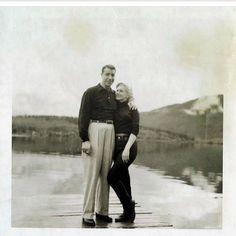 Marilyn Monroe & Joe DiMaggio 1953