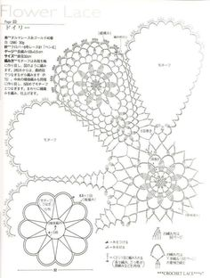 مفرش كروشيه دائري - circular crochet doily ~ شغل ابره NEEDLE CRAFTS