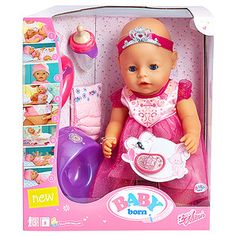 Baby Born Interactive Princess Doll – Target Australia