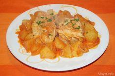 Questa e' la ricetta di mia nonna per preparare lo stoccafisso con le patate (o stocco e patane per dirla alla napoletana), un piatto unico dal sapore