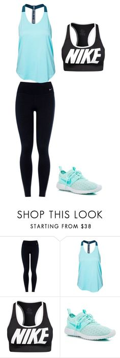 """Nike"" by akosheba ❤ liked on Polyvore featuring NIKE"