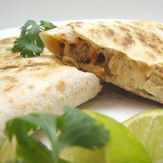 Grilled Chicken Quesadillas Allrecipes.com