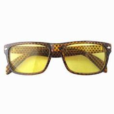 Eyekepper Grid Plaid Print Yellow Lens Night Driving Sunglasses Eyekepper. $11.29