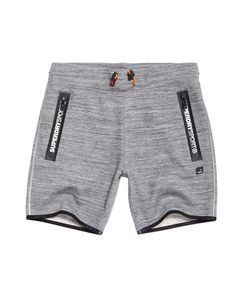 Superdry Short slim Gym Tech Gris Clair Athletic 790b6bd775b