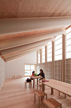 community center for the 'onagawa temporary container housing' by shigeru ban architects, onagawa, miyagi, japan