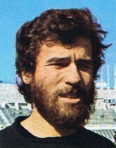Gregório Freixo na Académica de Coimbra em 1976/77.