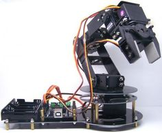 Picture of Bluetooth controlled arduino robot arm