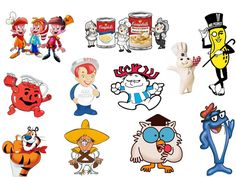 In the 50s, 60s and 70s we had a lot of commercial mascots