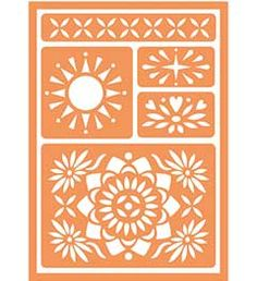 Handmade Charlotte peel + stick stencils available in Michaels Now!